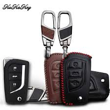 <b>Kukakey Leather</b> Car Key Cover Case Holder Keychain Accessories ...