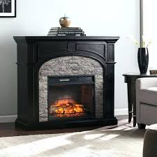 infrared electric fireplace electric fireplace blvd ebony and gray stacked stone infrared electric fireplace electric infrared electric fireplace