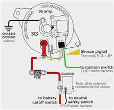 48 pleasant stocks of one wire alternator wiring diagram diagram