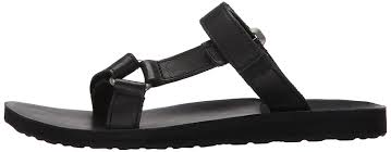 teva women s w universal slide leather track and field shoes brown b m black blk women s sports