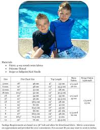 Hang Ten Size Chart Hang Ten Rash Guard Sewing For The Grands Boys Sewing