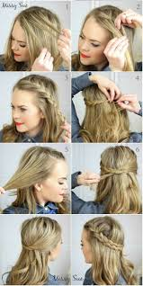 Quick Hairstyles For Braids 25 Best Ideas About Cute Side Braids On Pinterest One Sided