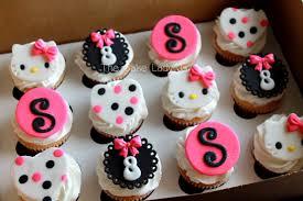 Hello Kitty Birthday Cupcakes Cakecentralcom