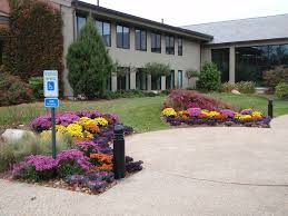 Office landscaping Landscaped Office Park Landscaping And Grounds Maintenance Nd Landscaping Office Parks Nd Landscaping
