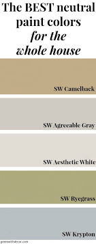 the best neutral paint colors for the whole house perfect if you love a costal