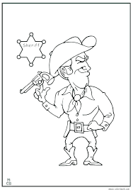 Cowboy Boot Coloring Pages Printable Coloring Source Kids