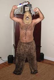 shaved chewbacca