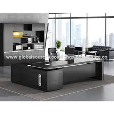Image Gray China Modern Office Desk Used Melamine Mdf Finishing Design Executive Desk Global Sources China Executive Desk From Foshan Manufacturer Foshan Long Xing