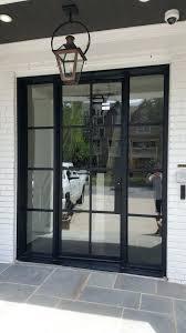 metal glass doors modern steel door sliding metal glass doors