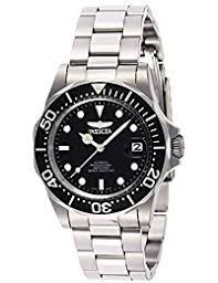 invicta watches shop amazon uk invicta men s pro diver automatic watch black dial analogue display and silver stainless steel bracelet 8926
