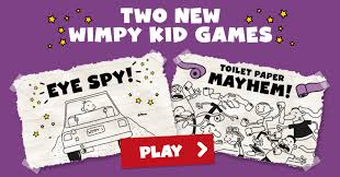 two new wimpy kid games