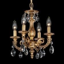 schonbek lighting 5660 76o milano 4 light candle style chandelier heirloom bronze
