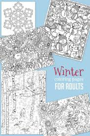 Small Picture Christmas Winter Coloring Pages for Kids to Color