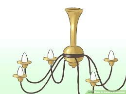 how to install a chandelier image titled install a chandelier step install chandelier on sloped ceiling