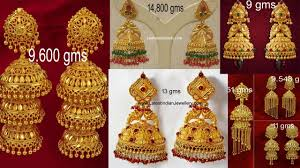 Latest Gold Jhumka Earrings Design With Price In India Latest Gold Jhumka Designs With Weight Gold Earrings Jhumka Designs Earrings For Women Girls