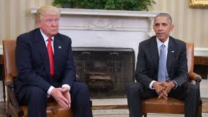 Image result for trump meets with obama images