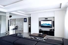 feature wall tv console design. Beautiful Wall 10 Elegantly Clean Cut Tv Console And Feature Wall Design V