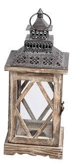 Dekojohnson Orientalische Laterne Deko Laterne Holz Laterne