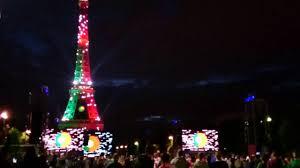 Eiffel Tower Light Show 2017 Euro 2016 Eiffel Tower Light Show Portugal 4k Ultra Hd