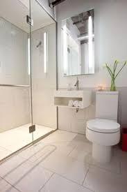 modern white bathroom ideas. Contemporary Bathroom With White Porcelain Tile Shower Wall Covering #designmine Modern Ideas A