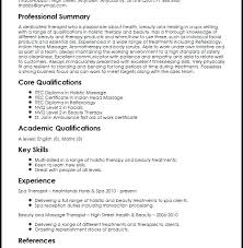 Spa Therapist Resume Sample With Create My Resume For Make Stunning ...