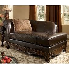 furniture t north shore:  north shore dark brown left corner chaise