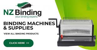 Binding Machines Comb Size Guide Expert Advice Buy Online