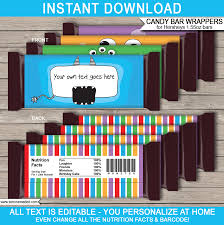 hershey candy bar wrapper monster hershey candy bar wrappers personalized candy bars