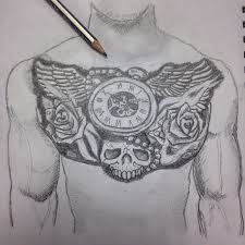 Pencil Sketch Tattoo At Paintingvalleycom Explore Collection Of