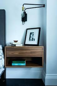Ikea Wall Nightstand Attractive Wall Mounted Bedside Table Hack From The  House Of Lists Mirrored Nightstand . Ikea Wall Nightstand Medium Size Of  Mounted ...