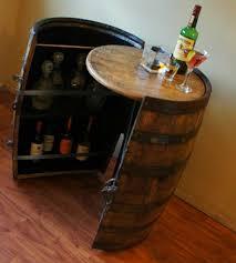 Alcohol Cabinet Cooperage Cabinets Custom Wine And Liquor Barrel Cabinets