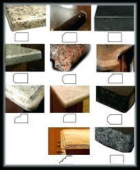 granite edge types for countertop edges detail kitchen excellent profiles 4 agonizing over quartz counter laminate choices