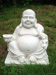 buddha garden statue. Contemporary Garden Laughing Buddha Statue And Garden