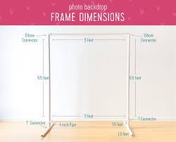 framedimensions in wedding backdrop stand diy jumpstartcoffee me