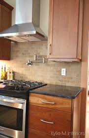 Granite Kitchen Tiles 17 Best Ideas About Travertine Tile Backsplash On Pinterest