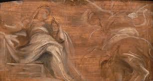 peter paul rubens grisaille approach to an oil sketch ashmolean