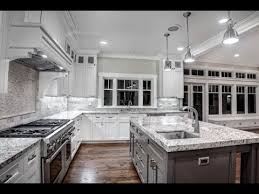 white and gray countertop