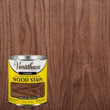 Varathane Classic Wood Stain Color Chart Varathane 1 Qt Special Walnut Classic Wood Interior Stain