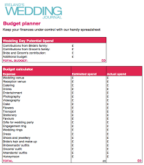 Wedding Planning Budget Calculator Professionals Guide To Becoming A Wedding Planner Wedding Journal