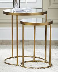 end table. Large Majaci Accent Table (Set Of 2), , Rollover End