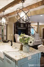 lighting for island. Orbit Pendant From CLC Lighting Design Over Kitchcen Island For N