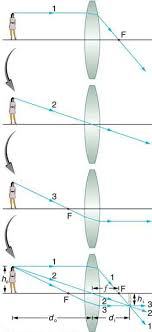 Image Formation By Lenses Physics
