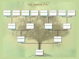 Example Of Family Tree Chart Family Tree Chart Template Example