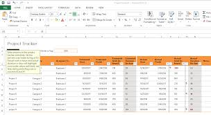 Excel Template For Project Tracking Excel Templates For Project Managers