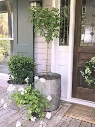 Best 25 Front Porch Planters Ideas On Pinterest Front Door Porch Planter  Ideas