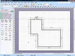 While visio has its own sets of circuit symbols, i prefer to create my own. Adding Door Window And Furniture Shapes To Office Layouts Laying Out Office Spaces