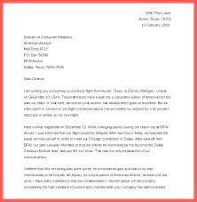 Complaint Letter Template For Poor Customer Service