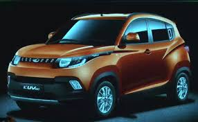 new car launches by mahindraMahindra S101 SubCompact SUV Christened KUV100 Launch on 15