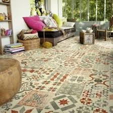 antique cushioned vinyl flooring gustavian 01
