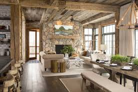 lake cabin furniture. Rustic Lake House-Martha OHara Interiors-08-1 Kindesign Cabin Furniture N